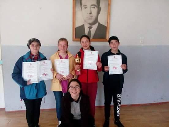 """""""არქიმედეს თასი"""" მესტიის  II საჯარო სკოლამ მოიპოვა"""
