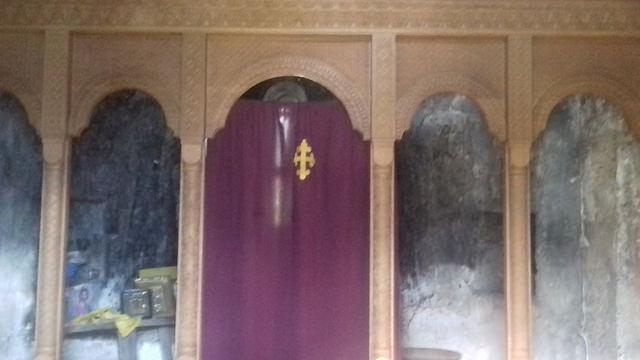 მუწდის მთავარანგელოზთა სახელობის ტაძარში ახალი კანკელი დაიდგა